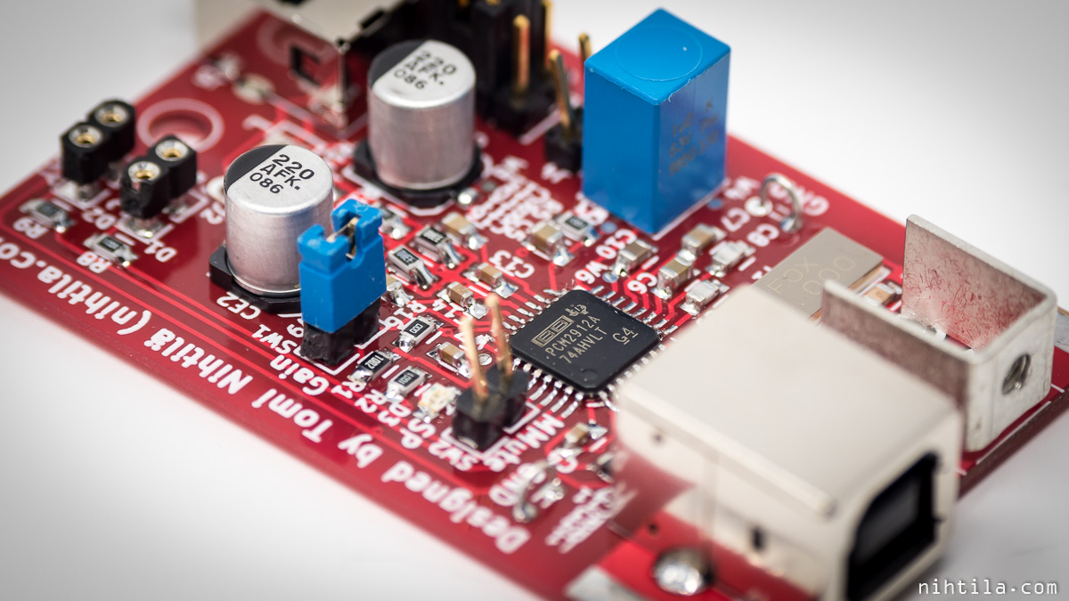 Usbhi Usb Interface For Headset Schematic Pcm2912a Is A Audio Codec With Mono Microphone Input And Stereo Headphone Output